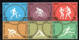 Z897 - LIBIA LYBIA 1964 , Serie Yvert  N. 246/251  ***  MNH  (2380A)  Olimpiadi Tokyo - Libia
