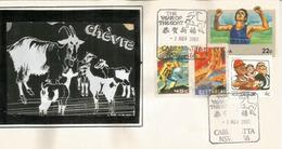Année De La Chèvre.  Lettre De Chinese Town Cabramatta (Sydney) Australie.  Année 2003 - Chinees Nieuwjaar