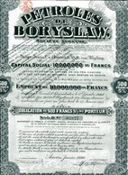 PÉTROLES De BORYSLAW (Pologne); Obligation - Shareholdings