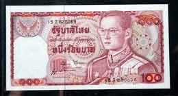 Thailand Banknote 100 Baht Series 12 P#89 SIGN#52 UNC - Thailand