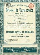 PÉTROLES De TUSTANOWICE (Galicie) - Pétrole
