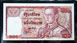 Thailand Banknote 100 Baht Series 12 P#89 SIGN#54 UNC - Thailand