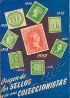 (1950ca). ORIGEN DE LOS SELLOS Y SUS COLECCIONISTAS. J. Majó-Tocabens. Edita Ramón Sopena. Barcelona, 1950ca. - Spain