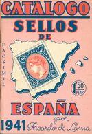 1941. CATALOGO SELLOS DE ESPAÑA 1941. Ricardo Lama. Barcelona, 1941. - Spain