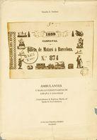 1979. AMBULANTES Y MARCAS FERROVIARIAS DE ESPAÑA Y COLONIAS. Natalio S. Nathan. Edición Colección Filatélica Hobby. Madr - Spain