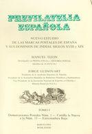 1983. PREFILATELIA ESPAÑOLA, ESTUDIO DE LAS MARCAS POSTALES DE ESPAÑA Y SUS DOMINIOS DE INDIAS, SIGLOS XVIII Y XIX, Tres - Spain