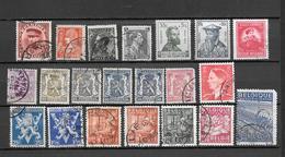 BELGIO BELGIQUE  1931-1948  21 V. -  Lot Lotto - Blocchi 1924 – 1960