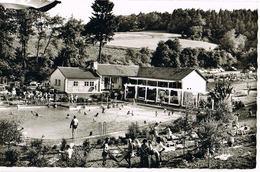 AK Hilders/Rhön, Schwimmbad An Der Heide 1962 - Hilders