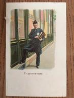 CPA, Le Garçon De Recette,Illustrateur, Fantaisie, KF éditeurs Paris, écrite En 1904, Timbres - Illustrators & Photographers