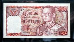 Thailand Banknote 100 Baht Series 12 P#89 SIGN#58 UNC - Thailand