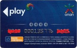 Greece - OPAP Greek Bet Games Organization Membership Card - Otras Colecciones