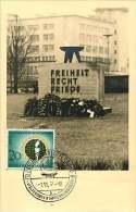 1957   Welt-Frontkämpfer-Kongre Ss, Berlin MiNr 177  Esrttagstempel - [5] Berlijn