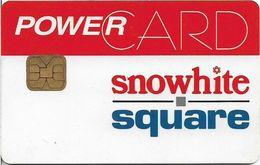 India - Snowhite Square Stores Chip Used PowerCard - Otras Colecciones