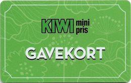 Norway - Kiwi - Gavekort Green Margnetic Giftcard, Used - Andere Sammlungen