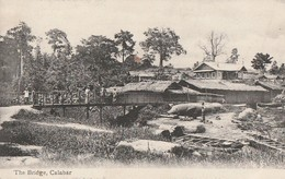 THE BRIDGE CALABAR  Carte Rare. - Nigeria