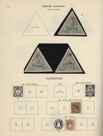 Nachlässe: ALLE WELT-SAMMLUNG In Zwei Dicken Alten Stanley Gibbons-Alben, Gesammelt Wurde Die Ganze - Postzegels