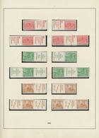 Nachlässe: 1872/1956, Großer Karton Mit Marken Aus Einigen Ländern, Dabei U.a. Sammlungen Deutsches - Postzegels