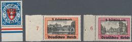 Nachlässe: 1900/1970 (ca.), Kleiner Aber Feiner Nachlaß Mit Vielen Besseren Briefen, Dabei Berlin Ro - Postzegels