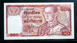 Thailand Banknote 100 Baht Series 12 P#89 SIGN#61 UNC - Thailand