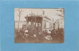 PARIS/CHARENTON - Tramway,vers 1900 (photo Format 8,8cm X 6,2 Cm) - Luoghi