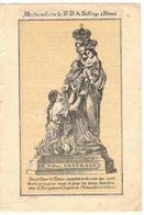 ARCHICONFRERIE NOTRE DAME DU SUFFRAGE ESCOUFFIER NIMES IMAGE PIEUSE RELIGIEUSE HOLY CARD SANTINI HEILIG PRENTJE - Santini