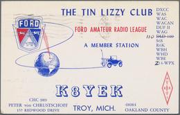 Nachlässe: 1947/1965, Ca. 600 QSL-Karten (schriftliche Bestätigung Unter Amateurfunkern In Aller Wel - Lots & Kiloware (min. 1000 Stück)