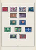 Wunderkartons: 1949/1977, 10 Alben Mit Teilsammlungen Bundesrepublik Deutschland, Berlin, Europa CEP - Lots & Kiloware (min. 1000 Stück)