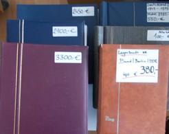 Nachlässe: Nachlass In 4 Großen Kartons. Lagerbücher Mit Dubletten, überwiegend Für Den Weiteren Ver - Lots & Kiloware (min. 1000 Stück)