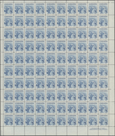 Canada: 1953, Icebear, Michel No.283 In Full Sheets And Some Part Sheets. In Total 30096 Stamps With - Kanada