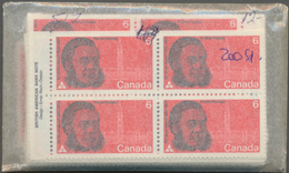 Canada: 1970, Stock Of The Issues Michel No. 455 - 461 In Very High Quantities MNH, Mostly Per 100 I - Kanada