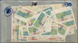 Canada: 1970/1971, Stock Of The Issues Michel No. 462 - 483 In Very High Quantities MNH, Mostly Per - Kanada