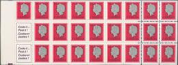 Canada: 1978, Queen Elisabeth II. Booklet Michel No. 84, 500 Copies MNH. Face Value $ 1750,- CAD, Ca - Kanada
