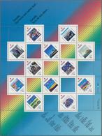 Canada: 1978/1992, Stock Of Souvenir And Minature Sheets, F.e. More Than 2000 Copies Of Michel Block - Kanada