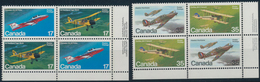 Canada: 1980/1982, Aviation Airplanes, In High Quantities. Face Value $2018 CAD. - Kanada