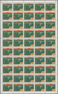 Canada: 1983, Scouts, Michel No.887 In Full Sheets (folded) And Corner Blocks. In Total 1750 Stamps - Kanada