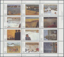 Canada: 1984/1987, Paintings And CAPEX, Michel No. 910-921 (68) And Block 6 (217) Mint Never Hinged. - Kanada