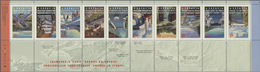 Canada: 1995/1998 (ca.), 13.162 MNH Stamps With A Face Value Of $0,45 CAD In Souvenir Sheets, Bookle - Kanada