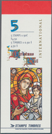 Canada: 1997, Christmas Booklets And Two Rolls Meaple Leaf, Michel No. MH 0-215 (100) + MH 0-216 (10 - Kanada