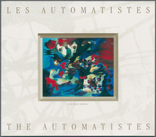 """Canada: 1998, Paintings """"The Automatistes"""", 180 X Michel No. MH 0-222 Mint Never Hinged. Face Value - Kanada"""