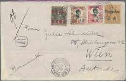 China - Fremde Postanstalten / Foreign Offices: French Indochina South China Offices, Yunnanfou: Blu - Other