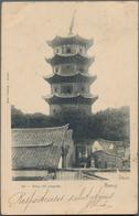 China - Besonderheiten: 1900/25 (ca.), Ppc (19) Of Inner-China Cities/scenes Inc. Yunnan, Mengtsz, H - Zonder Classificatie