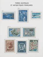 Französische Gebiete In Der Antarktis: 1955/2001. Very Nice Collection On Preprinted Davo. Early Yea - Französische Süd- Und Antarktisgebiete (TAAF)