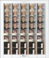 Guinea-Bissau: 2001, BISHOP FERRAZETTA, Complete Set Of Four In Se-tenant Sheets Of Ten Sets, In An - Guinea-Bissau