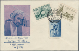 Iran: 1922-1985, 21 Covers & Cards Including Air Mails, First Flights Bouchir-Teheran & Meched-Teher - Iran