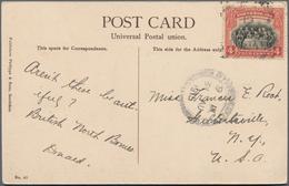 Nordborneo: 1915/61, Covers (8, Mostly QEII, Two Slight Faults), FDC (1), FFC (2). Plus 1890/1900 (c - Nordborneo (...-1963)