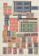 Saudi-Arabien: 1920-2000, Collection On Cards Starting Early Overprinted Issues Hejaz & Nejd Includi - Saudi-Arabien