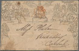 Alle Welt: 1840-1920's Ca.: About 70 Postal Stationery Items Worldwide, Starting With An 1840 Mulrea - Sammlungen (ohne Album)