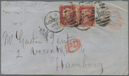 Alle Welt: 1870-1920, Postal Stationery Collection Europe & Overseas In Very Old Folder, Some Differ - Sammlungen (ohne Album)
