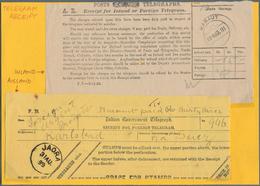 Alle Welt: 1899 - 1974 (ca.), Small Interesting Batch Of Money Orders, International Reply Coupons A - Sammlungen (ohne Album)