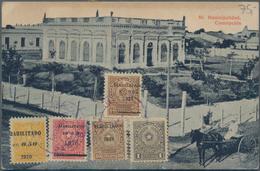 Alle Welt: 1900 - 1920 (ca.), Accumulation Of About 80 Picture Postcards Worldwide, Some Franked On - Sammlungen (ohne Album)